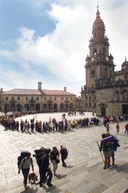 Centro de Masajes y Rehabilitación al Peregrino Funcionando al lado Catedral Santiago Compostela