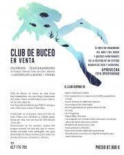 CLUB DE BUCEO en excelente funcionamiento en Parque Natural Cabo de Gata + CARTERA DE CLIENTES + TIENDA